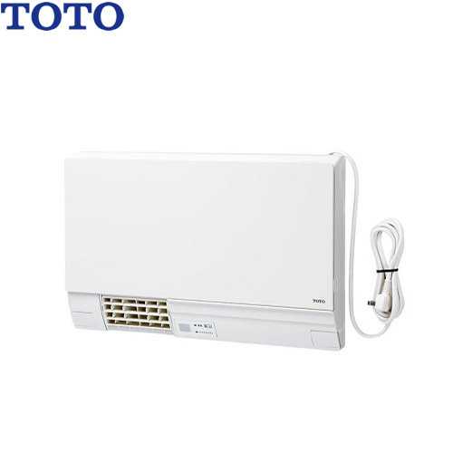 【後継品での出荷になる場合がございます】[TYR340R] 【電気タイプ】 TOTO 洗面所暖房機 節電小型化 集合・戸建住宅向け 暖房 涼風 ドライヤー ワイヤレスリモコン(赤外線式)付属( TYR320R / TYR340 の後継品)