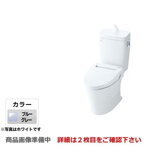 [YBC-ZA10PM--YDT-ZA180PM-BB7] INAX トイレ LIXIL アメージュZ便器 ECO6 床上排水(壁排水155mm) 手洗あり アクアセラミック 組み合わせ便器(便座別売) フチレス ブルーグレー