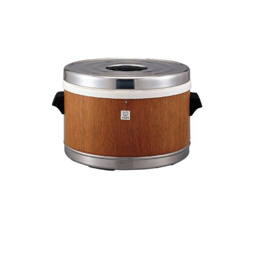 [JFM-5700-MO] タイガー 業務用厨房機器 業務用ステンレスジャー 硬質ウレタンフォーム断熱材 3升2合 電気不要 保温専用 モリブデンステンレス鋼使用 木目