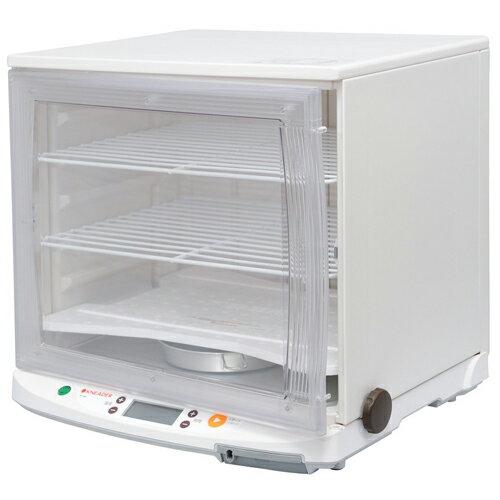 【エントリーでP5倍】[PF102] 日本ニーダー 洗えてたためる発酵器 1分で組み立て&分解可能 オーブントレイが丸ごと入る ラクラク温度管理 ホワイト