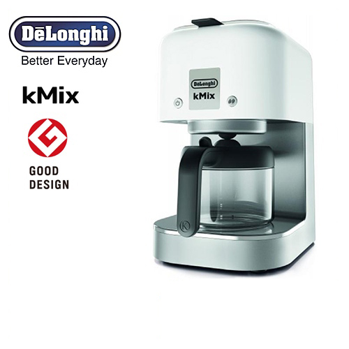 [COX750J-WH] デロンギ kMix コーヒーメーカー kMix (125mL×6杯) ケーミックス ドリップコーヒーメーカー 抽出杯数:1~6杯 (125mL×6杯) ステンレスフィルター デロンギ クールホワイト, 粋屋:7f279892 --- officewill.xsrv.jp