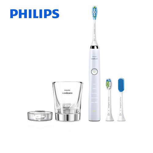 [HX9337-45] フィリップス 電動歯ブラシ Sonicare DiamondClean ソニッケアーダイヤモンドクリーンディープクリーンエディション 充電式電動歯ブラシ 舌磨き 5つのモード ホワイト