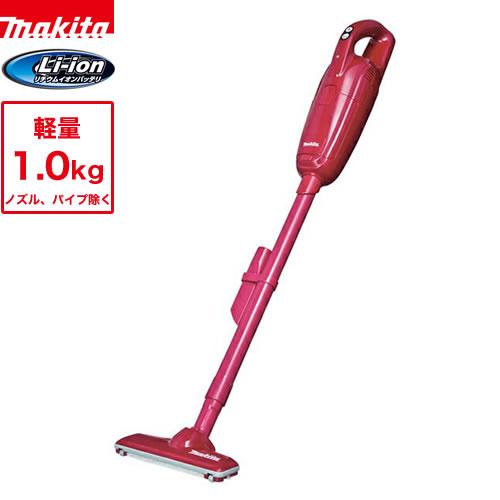 [CL105DWNR] マキタ 掃除機 リチウムイオンバッテリ内蔵 紙パック式 充電式クリーナ レッド 【送料無料】