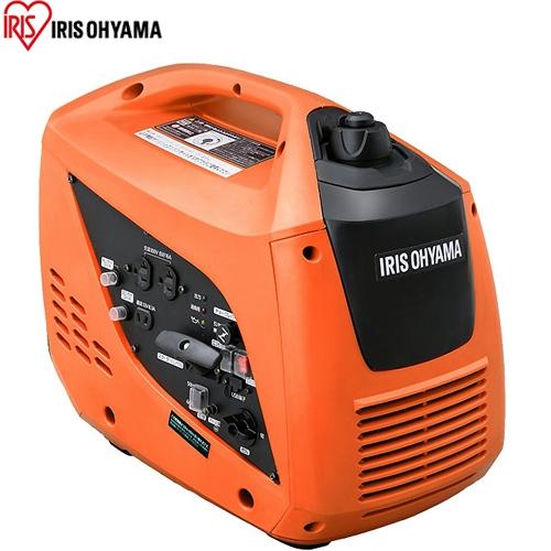 [IGG-1600] アイリスオーヤマ 発電機 ガソリン燃料 発電機 燃料タンク容量:3.4L インバーター発電機 1600W ハンディタイプ オレンジ 【送料無料】