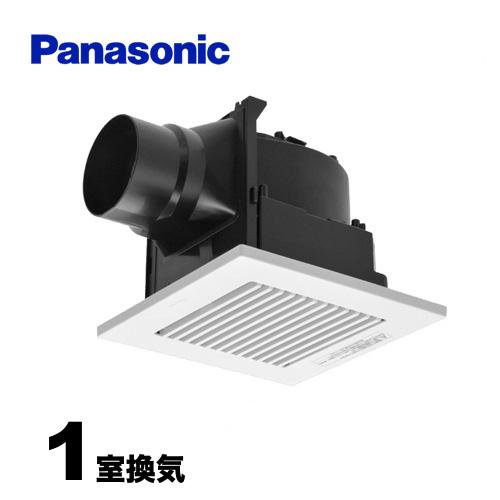 [FY-17C8] パナソニック 換気扇 天井埋込形換気扇・ルーバーセットタイプ 換気扇 樹脂製本体 排気 低騒音形 ダクト式 スイッチ別売