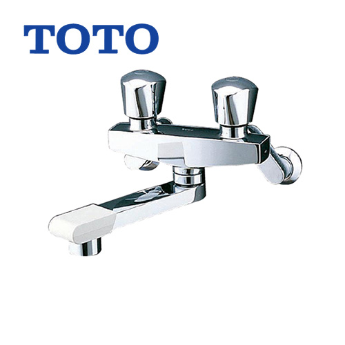 TOTO 浴室バス水栓 蛇口 混合水栓 蛇口 壁付きタイプ [TMH20-2A20] 浴槽用(シャワー無し) ニューウェーブシリーズ 【シールテープ無料プレゼント!(希望者のみ)※水栓の箱を開封し同梱します】 浴室 水栓 混合水栓 浴室用 壁付タイプ