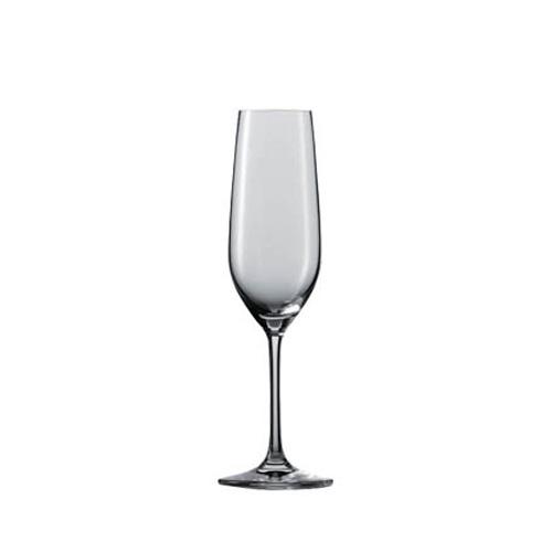 [1472] ヴィーニャ ワイン ワイングラス フルートシャンパン EP  ヴィーニャ 口径45X最大径70X高さ225 6脚 227cc 【送料無料】【メーカー直送のため代引不可】