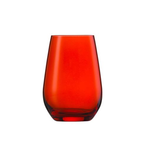 [1951] ヴィーニャ ワイン ワインセラー スポット タンブラー13oz レッド ヴィーニャ 最大径81×高さ114 6個 397cc 【送料無料】【メーカー直送のため代引不可】