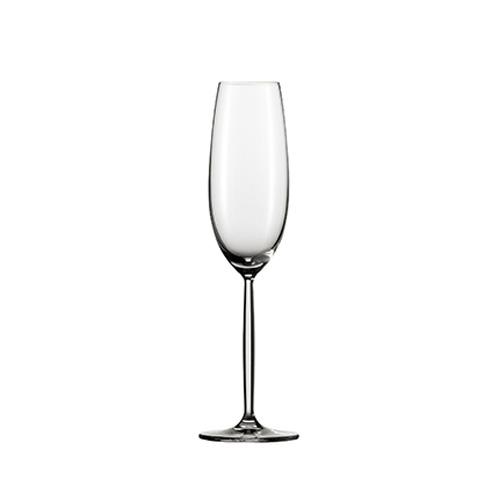 [30074] ツヴィーゼル ワイン ワイングラス ディーヴァ フルートシャンパン EP  最大径72×高さ253 6脚 219cc 【送料無料】【メーカー直送のため代引不可】