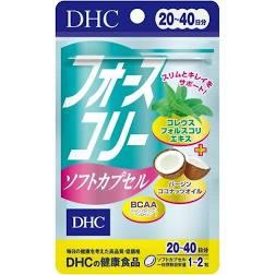 ダイエットとキレイをサポート 定形外対応 DHCフォースコリーソフトカプセル 20日~40日 デポー 40粒入り お得セット