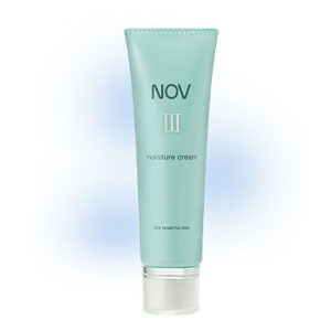 しっとりした感触のやさしい化粧水 定形外配送可 デポー 全品最安値に挑戦 常盤薬品 モイスチュアクリーム 45g NOVノブIII