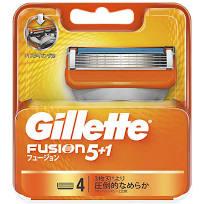 ジレット 即日出荷 フュージョン Gillette ファッション通販 Fusion 替え刃 替刃 4個入り 定形外配送可 ジレットフュージョン