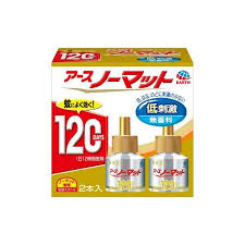 低刺激 無香料 日本 大決算セール アース 2本入 ノーマット 120日用取替えボトル