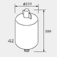 ノーリツ 半密閉式膨張タンクHBT-100