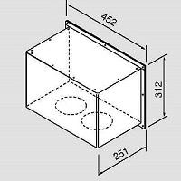 ノーリツ TFW-100A1L用防滴カバー2