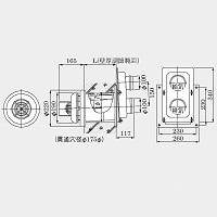 YP3534HM   ノーリツ 給排気トップ 05BFE01