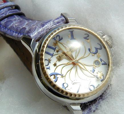 【男女兼用!女性に人気のRitmo Latino(リトモラティーノ)腕時計stella(ステラ)パープル・レギュラーサイズ(ボーイズ)】リトモ人気の定番腕時計!