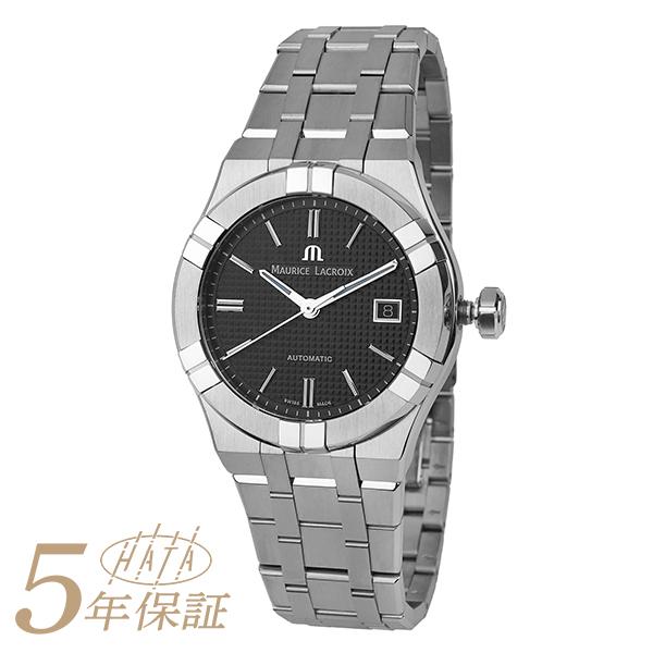 モーリスラクロア 腕時計 アイコン オートマティック AI6007-SS002-330-1 MAURICE LACROIX メンズ 時計 ブラック 新品 送料無料 超激安特価 人気急上昇 ブランド AIKON AUTOMATIC