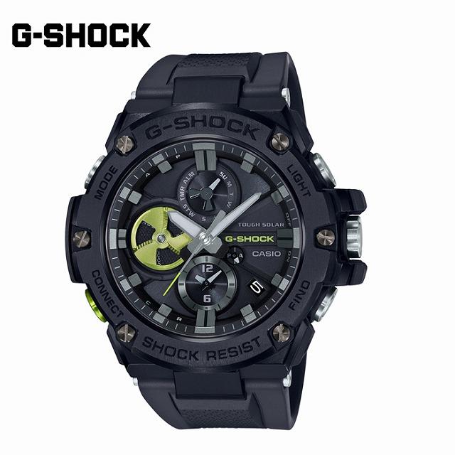【全商品P10倍+5%還元】【新作】カシオ CASIO Gショック G-SHOCK G-STEEL 腕時計 GST-B100B-1A3JF【国内正規品】【送料無料】
