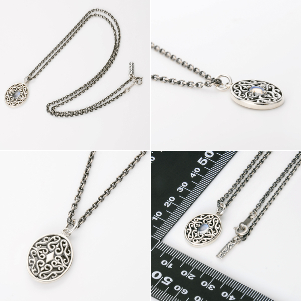 Boyfriend men birthday present memorial day ギフトラッピングマジェスフィッセン in Father's Day for gift Magische Vissen silver necklace 20 generations in 30s