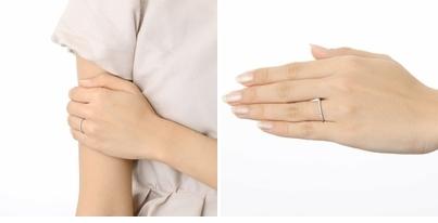 J luxe ジェイリュクス プラチナ リング 指輪 ダイヤモンド ホワイト 彼女 レディース