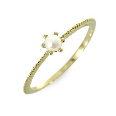 T-grand ティーグランド リング 指輪 6月誕生石 選べる パール・真珠 イエロー 彼女 レディース 母の日 2020