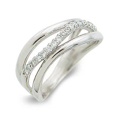 isu イス ホワイトゴールド リング 指輪 ダイヤモンド ホワイト 彼女 レディース 母の日 2020
