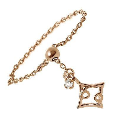 me. ミー ピンクゴールド リング 指輪 ダイヤモンド ピンク 20代 30代 彼女 レディース 母の日 花以外