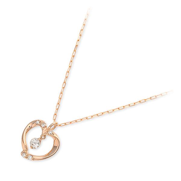 【店内全品ポイント10倍】 バースデーコレクション ネックレス ダイヤモンド ピンク 20代 30代 彼女 レディース 母の日