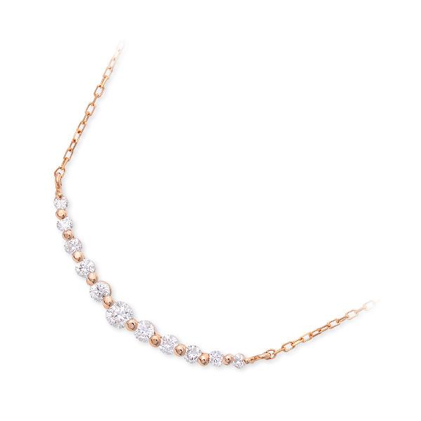 Jセレクション ネックレス シンプル ピンク 20代 30代 彼女 レディース 人気 ブランド