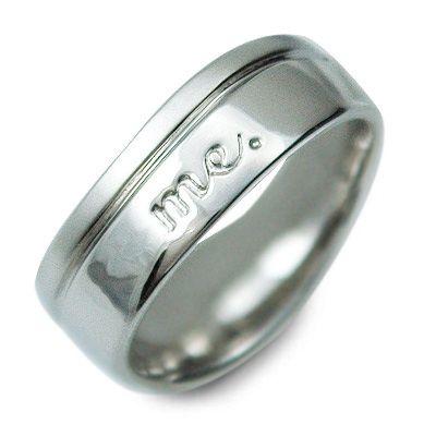 me. プラチナ リング 指輪 婚約指輪 結婚指輪 エンゲージリング 20代 30代 彼氏 メンズ 誕生日プレゼント 記念日 ギフトラッピング ミー 送料無料
