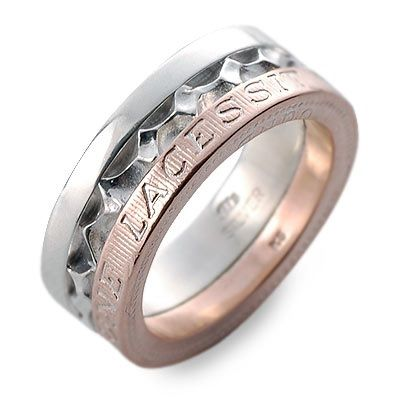 M's collection エムズコレクション シルバー リング 指輪 ピンク 20代 30代 彼氏 メンズ