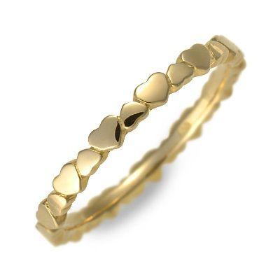 アチエ ゴールド リング 指輪 イエロー 彼女 レディース ハート 人気 ブランド 母の日 2020