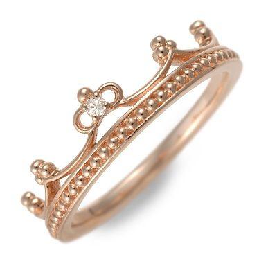 アチエ ピンクゴールド リング 指輪 ダイヤモンド ピンク 20代 30代 彼女 レディース 母の日