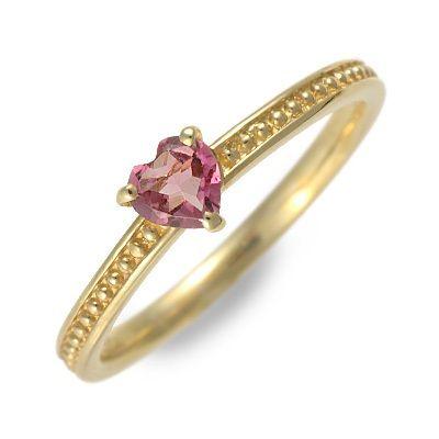 アチエ ゴールド リング 指輪 トルマリン イエロー 20代 30代 彼女 レディース 人気 ブランド 母の日