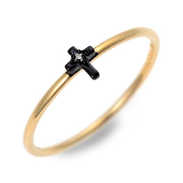 アチエ リング 指輪 ダイヤモンド イエロー 20代 30代 彼女 レディース クロス 人気 ブランド 母の日