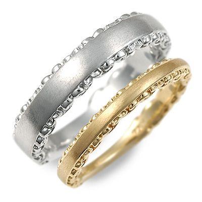 ペアリング 送料無料 アチエ ゴールド 婚約指輪 結婚指輪 エンゲージリング 彼女 彼氏 レディース メンズ カップル ペア 誕生日プレゼント 記念日 ギフトラッピング Ache ブランド 母の日 2020