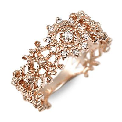 送料無料 アチエ ピンクゴールド リング 指輪 婚約指輪 結婚指輪 エンゲージリング ダイヤモンド 彼女 レディース 女性 誕生日プレゼント 記念日 ギフトラッピング Ache 母の日 2020