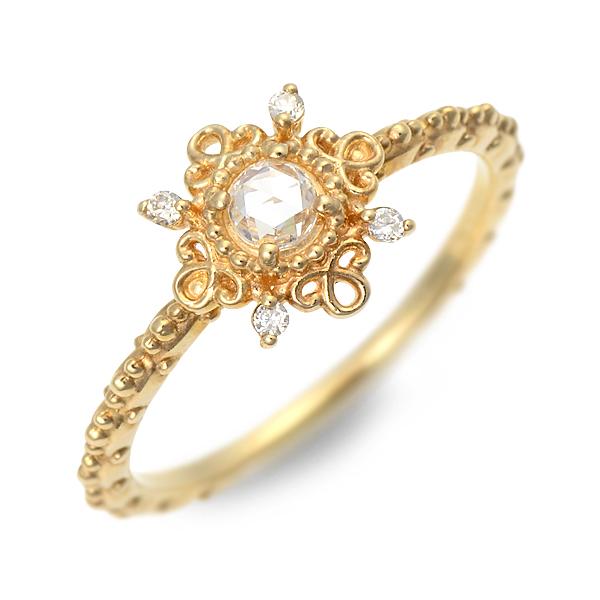 アチエ リング 指輪 ダイヤモンド イエロー 彼女 レディース 人気 ブランド