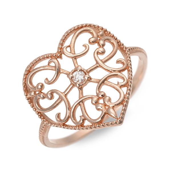 アチエ リング 指輪 ダイヤモンド ピンク 20代 30代 彼女 レディース 人気 ブランド 母の日