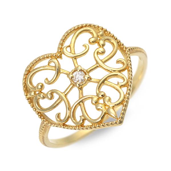アチエ リング 指輪 ダイヤモンド イエロー 20代 30代 彼女 レディース 人気 ブランド 母の日 花以外