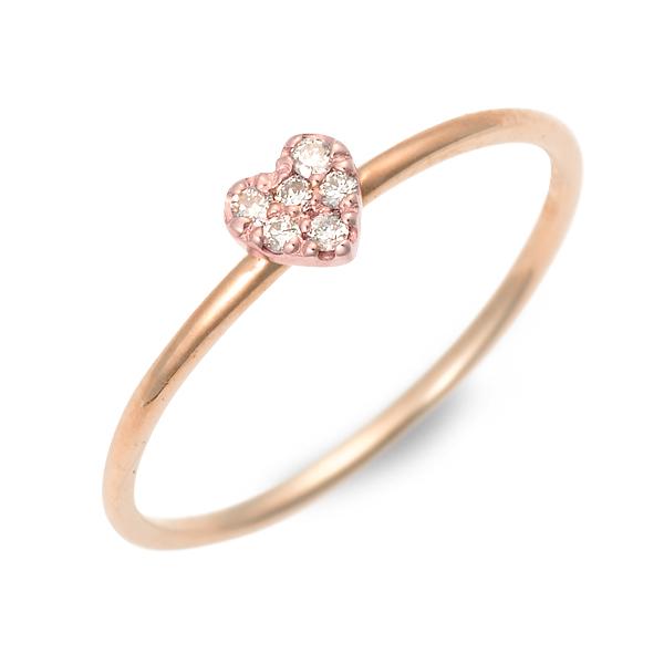 アチエ リング 指輪 ダイヤモンド ピンク 20代 30代 彼女 レディース 人気 ブランド 母の日 花以外