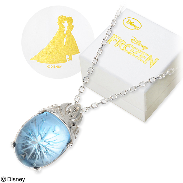 Disney Disney シルバー ネックレス 彼女 レディース 女性 誕生日プレゼント 記念日 ギフトラッピング ディズニー Disneyzone アナと雪の女王 送料無料 新生活 入学式 就職祝い 入学祝い