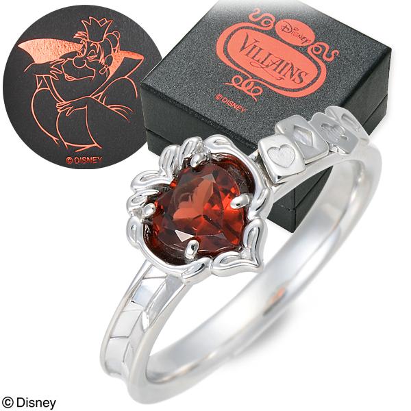 Disney Disney シルバー リング 指輪 婚約指輪 結婚指輪 エンゲージリング ハート 20代 30代 彼女 レディース 女性 誕生日プレゼント 記念日 ギフトラッピング ディズニー Disneyzone 不思議の国のアリス ヴィランツ 送料無料 母の日