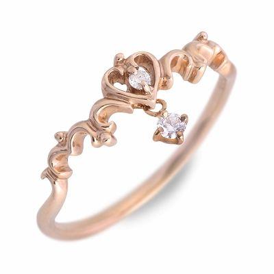 Anne Bonny アンボニー リング 指輪 ダイヤモンド ピンク 20代 30代 彼女 レディース 母の日 花以外