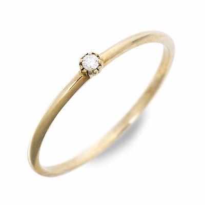 Anne Bonny アンボニー リング 指輪 ダイヤモンド イエロー 20代 30代 彼女 レディース 母の日 花以外