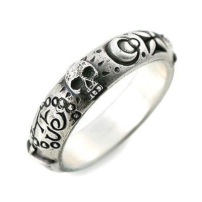 BIGBLACKMARIA ビッグブラックマリア シルバー リング 指輪 ホワイト 20代 30代 彼氏 メンズ