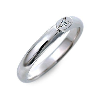 結婚指輪 マリッジリング プラチナ ダイヤモンド ホワイト 楽ギフ_包装 smtb-m