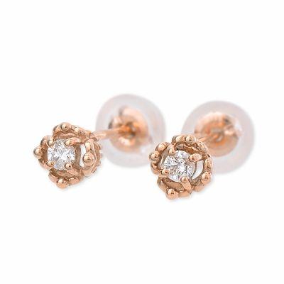 Anne Bonny アンボニー ピアス パーティ 結婚式 ダイヤモンド ピンク 彼女 レディース