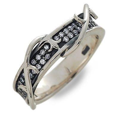 ALVIS アルヴィス シルバー リング 指輪 キュービック ホワイト 彼氏 メンズ